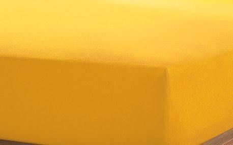Tchibo, Žerzejové napínací prostěradlo, 90 x 190 až 100 x 200 cm, modré Jagged Ice