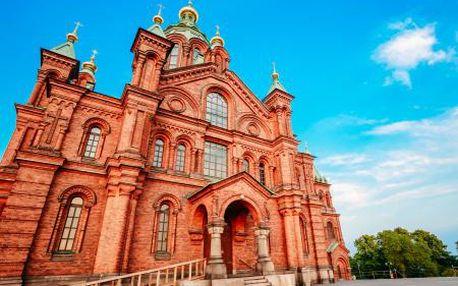 Pobaltské státy Estonsko a Lotyšsko s výletem do Finska na 5 dní