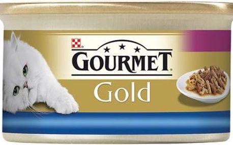 GOURMET Gold mořské ryby a špenát 85g