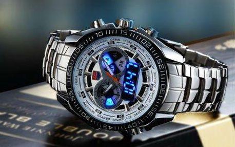 Moderní pánské nerezové hodinky TVG i s poštovným