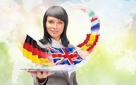 6měsíční efektivní online kurz angličtiny nebo jiného jazyka