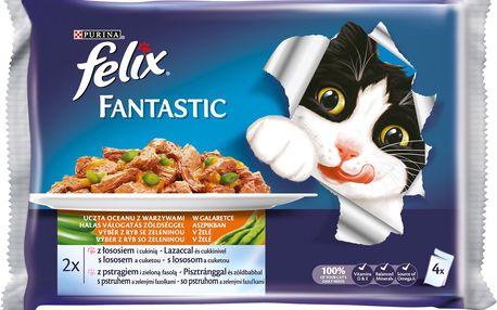 Felix FELIX Fantastic výběr z ryb se zeleninou 4x100g