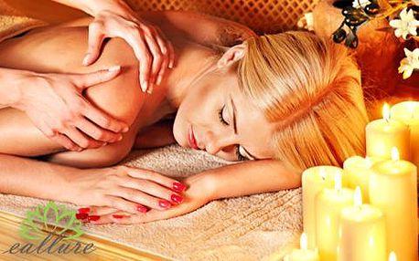 Bali masáž horkým aromatickým olejem