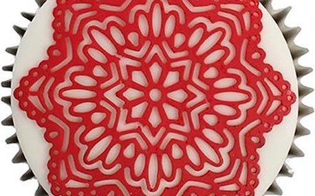 Cake Lace - jedlá krajka směs - červená - RED - 200g