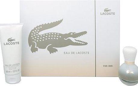 Lacoste Eau De Lacoste - parfémová voda s rozprašovačem 30 ml + tělové mléko 100 ml