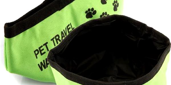 Cestovní miska na vodu pro domácí mazlíčky