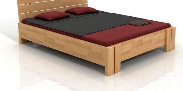 Dřevěná manželská postel Agne v rozměru 200 x 220 a jiných