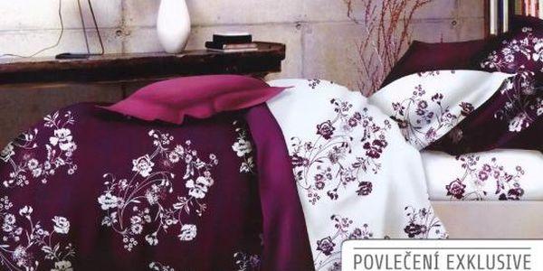 NOVIA Povlečení Exklusive, bavlna, 2 dílné, 140x200 70x90, Vzor EX05