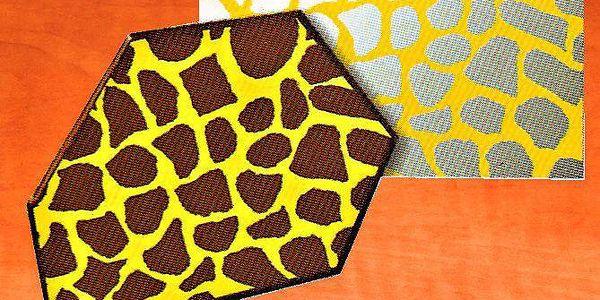 Transfer folie na čokoládu - leopard
