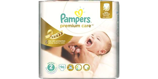Pampers Pleny PremiumCare 2 Mini - 96 ks