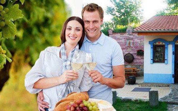 Víkendový pobyt pro 6 osob na Moravském Slovácku s degustací vína