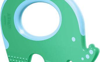 AVENT Kroužek k prořezávání zubů slon 3m+