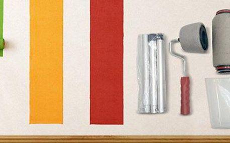 Plnicí válečky na malování