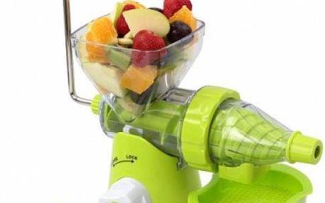 Ruční odšťavňovač - připravte si ke snídani vitamínovou bombu!