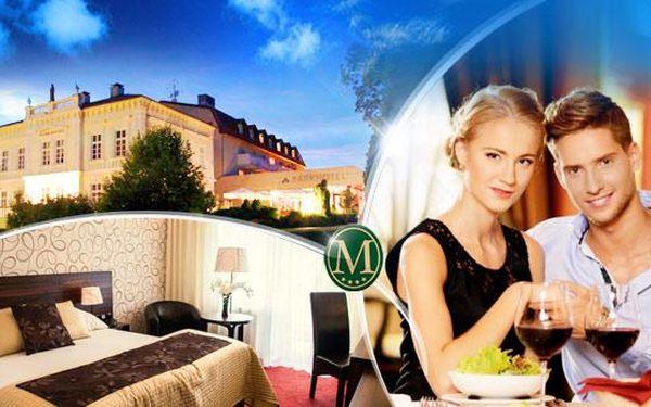 Parkhotel MORRIS**** Nový Bor na 3 dny pro DVA! POLOPENZE, exkluzivní WELLNESS, romantické menu a další!