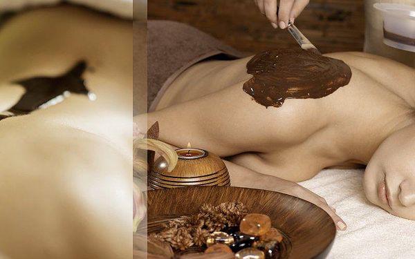 Čokoládová masáž celého těla a čokoládový zábal ve Studiu Agáta v Hotelu Golf v Praze.
