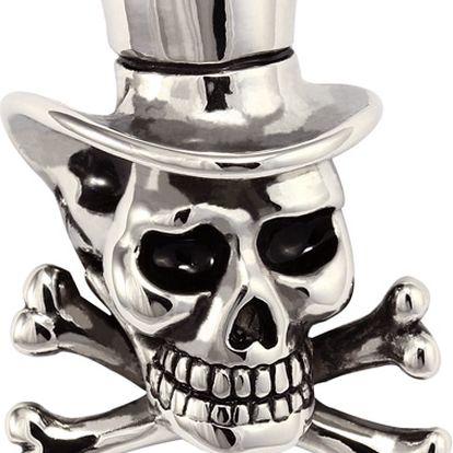Přívěsek lebka, skull