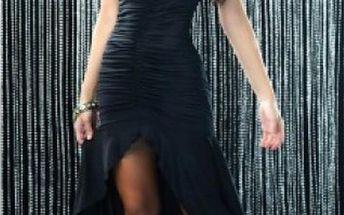 Dámské šaty B-Fashion, dlouhé, černé