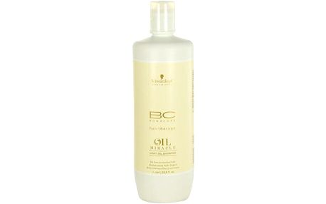 Schwarzkopf BC Bonacure Oil Miracle Light Oil Shampoo 1000ml Šampon na normální vlasy