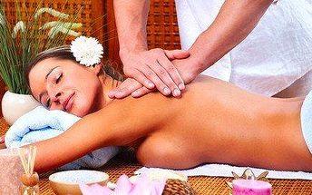 Energizující masáž celého těla (aromamasáž + meridiánová harmonizace energií)
