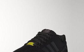 Adidas originals Zx Flux Black1/Black1/Wht, černá, 46