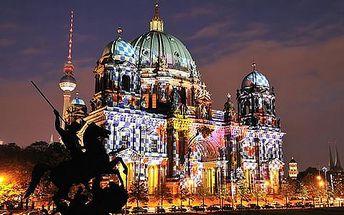 Velkolepý festival světel v Berlíně s možností projížďky lodí