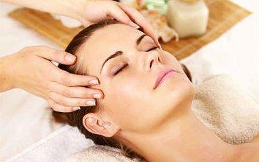 Indická antistresová masáž hlavy celých 40 minut