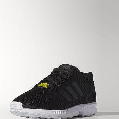 Adidas originals Zx Flux Black1/Black1/Wht, černá, 42