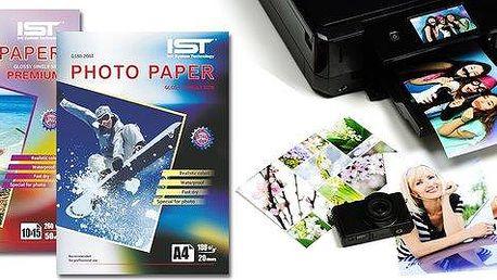 Fotopapír IST pro inkoustový tisk