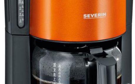 Kávovar Severin KA 9737, oranžový