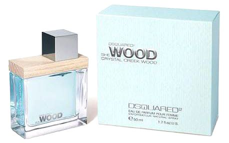 Parfémovaná voda Dsquared2 She Wood Crystal Creek Wood 30ml EDP Tester W