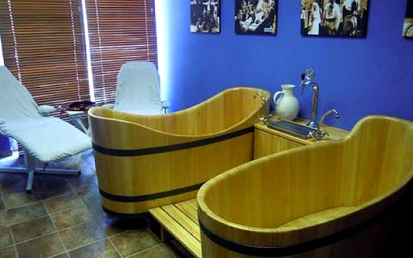Lázeňský wellness pro dva: speciální pivní koupel a další procedury s platností do prosince 20154