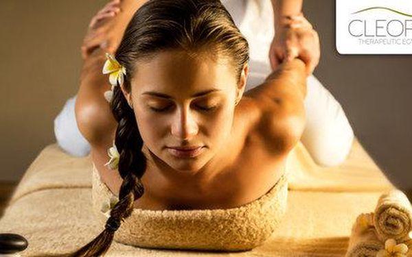 60minutová egyptská masáž Amon od rodilého Egypťana