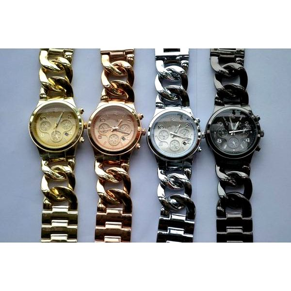 Dámské ocelové hodinky!