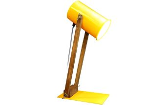 Stolní lampa Baltic 45 cm, žlutá - doprava zdarma!