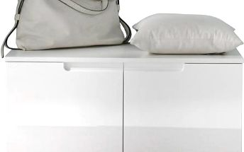 Moderní 2-dvéřová lavice / botník