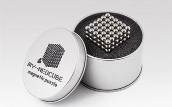 Neocube - 3D magnetické puzzle!! Úžasná magnetická stavebnice