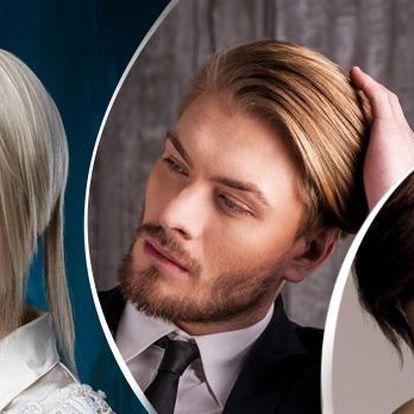 DÁMSKÉ i PÁNSKÉ kadeřnické balíčky pro všechny délky vlasů. Mytí, střih foukaná, melír a barva, botox, keratin!