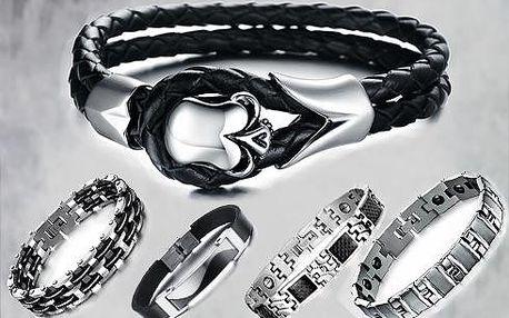 Pánské náramky - řada high class!! Luxusní náramky pro muže...