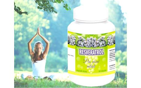 Resveratrol přírodní antioxidant 60 tbl. - extrémně silný antioxidant!
