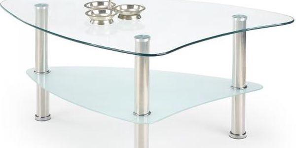 Salma - Konferenční stolek (sklo/kov)