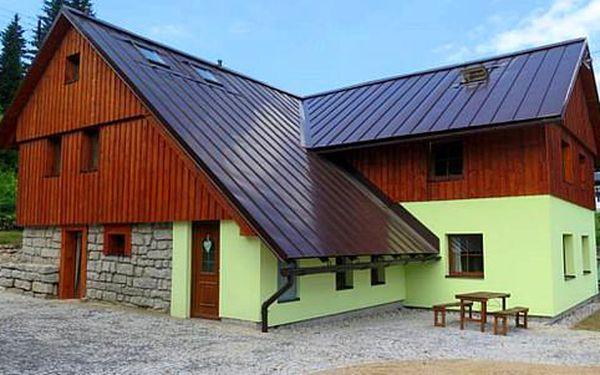 Ubytování v apartmánu až pro 9 osob v Jizerských horách se saunou a whirlpoolem ZDARMA