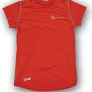 Sensor Coolmax Fresh K's t-Shirt Red, červená, 110