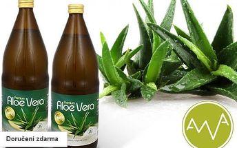 2 litry Aloe vera Premium z Německa