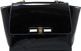 Černá business kabelka S316B