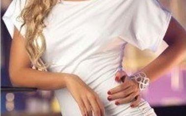 Dámské letní šaty B-Fashion, bílé