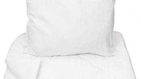 NOVIA Prošívaná přikrývka s polštářem, 70x90 140x200