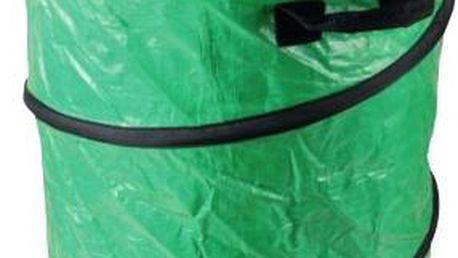 Koš na listí skládací pr.50x65cm plastový, zelený