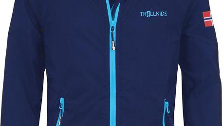 Chlapecká běžecká bunda - tmavě modrá