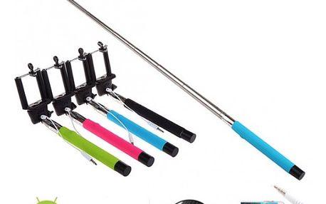 Teleskopická selfie tyč pro iOS a Android telefony